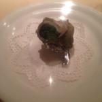 27396991 - コース料理 前菜(サザエのエスカルゴ風)