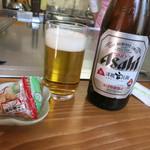 キッチンじゅん - まずはビールです♪