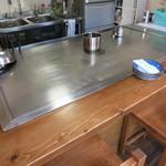 キッチンじゅん - 鉄板前を貸し切りました。
