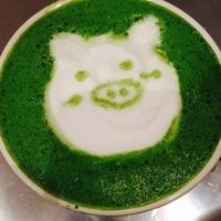 トンカフェ ダイニング - 抹茶ミルク
