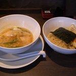 ラーメンにっこうact2 - 柚子白湯・小(麺150g+味玉:850円)