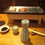 鮨処 小町 - また日本酒呑み過ぎちまいました
