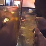居酒屋 串松 - 乾杯