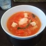 Osteria Ovest - トマトスープ
