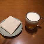 韓国料理 水刺齋 - 生ビール