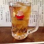レストランはなみ - ウーロン茶飲みまーすw