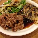 たね・かふぇ - 酵素玄米プレート ベジバーグ