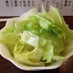 レストランはなみ - 野菜を追加w