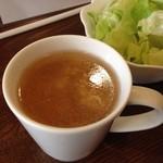 レストランはなみ - 卵スープ美味し!!