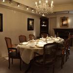 レストラン ひらまつ - 2階個室