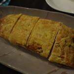 SLOTH - シラスと長ネギのダシ玉子焼き