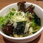 やきとりセンター - チョレギサラダ ¥280