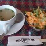 27414123 - スープとサラダ