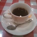 とんかつの専門店津田 - 食後のコーヒー