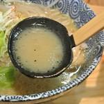 天空 - 天空・ラー麺(豚)スープ(2014.02)