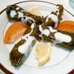 Niaribaba - ひき肉とライスの葡萄の葉巻