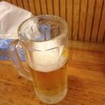 中華 芝苑 - 生ビール
