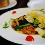 チャイニーズレストラン ファン - 豚ロースの柚子胡椒炒め