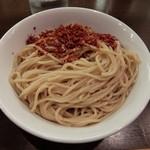 つけめん102 川口店 - 大盛りの麺