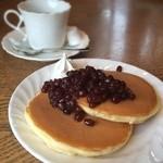 アオヤギ - 小倉ホットケーキとホットコーヒー
