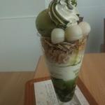 nanas green tea - 抹茶白玉パフェ