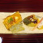 27419656 - 焼物(若筍と鰆の西京焼)