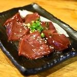 ホルモン焼肉 肉の大山 - 2014.5 レバー(580円)