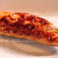 魚串 炙縁 - 名物!鮭ハラスの西京焼き串 99円!