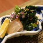 博多廊 - 鯛の昆布締め