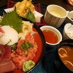 ふらり寿司 - 中とろ丼ランチ1580円