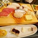 ふらり寿司 - 特選にぎりランチ1580円