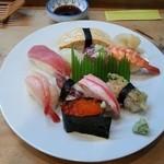 誠寿司 - おまかせ握りランチ10貫