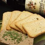 飛羽屋 - ワインと一緒に味わう…『白レバのパテ』