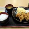 Tokuzou - 料理写真:鶏唐揚げ定食780円