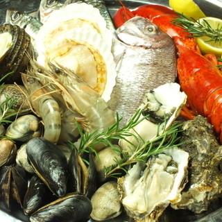 大崎上島や宮島の新鮮な魚介を使用したスペインバル