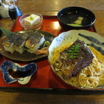 翼果楼 - 鯖街道 焼き鯖寿司付き 1770円