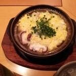 27434021 - とき卵がふわふわのおなかにやさしい「鶏ときのこの雑炊」!お酒の締めにサイコー。うま~ぃ!