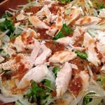 鶏Dining Bird Place - 定番のバンバンジー(^^)