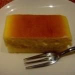 旬彩和さび - ランチのデザート:チーズケーキ