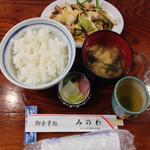 みのわ食堂 - 料理写真:御食事処みのわ