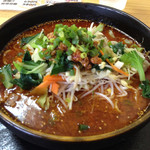 担担 - 坦々麺   辛さは6段階で選べます(^_^)v