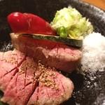 ホルモン焼肉 ぶち - 厚切りタン(≧∇≦)