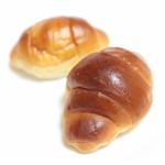 しろはとベーカリー - バターロール 2個入 (100円) '14 4月上旬