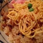一鶴 横浜西口店 - 〆の鶏飯!!