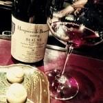 ワインバーハガクレ - 晩御飯は、ワインBARでしっとり(^ー^)ノっていうか、このノリだと、この後締めに行くの確定(^◇^