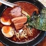 らーめん神鐵 - 黒神鐵(太麺¥990)5/20/2014