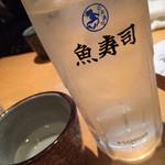 魚寿司 - 日本酒