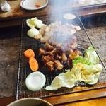 陽氣茶屋 - 地鶏炭火焼き