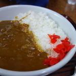 27443906 - 大盛りカレーは中華麺用の大きな器になります。