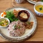 cafe #101 - 日替わりランチ(*´ー`*)